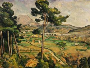 Mont Sainte-Victoire by Paul Cézanne