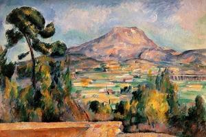 Mont Sainte Victoire by Paul Cézanne
