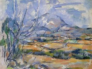 Montagne Sainte-Victoire, 1890-95 by Paul Cézanne