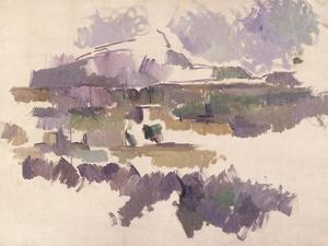Montagne Sainte-Victoire, 1904-05 by Paul Cézanne
