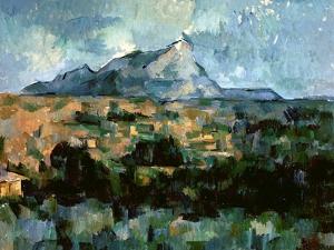 Montagne Sainte-Victoire, 1904-06 by Paul Cézanne