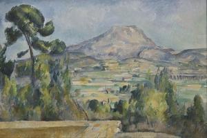Montagne Sainte-Victoire, C. 1890 by Paul Cézanne
