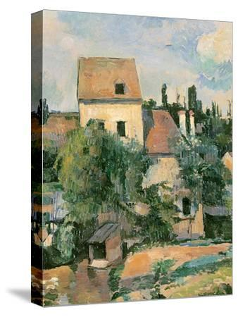 Moulin De La Couleuvre at Pontoise, 1881 by Paul Cézanne