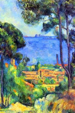 Paul Cezanne Landscape by Paul Cézanne