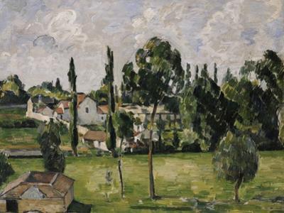 Paysage Avec Conduite d'Eau, circa 1879 by Paul Cézanne