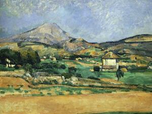 Plain of the Mount St. Victoire by Paul Cézanne