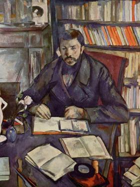 Paul Cezanne (Portrait of Gustave Geffroy) Art Poster Print