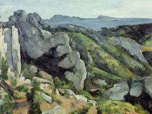 Rocks at L'Estaque, 1879-82 by Paul Cézanne