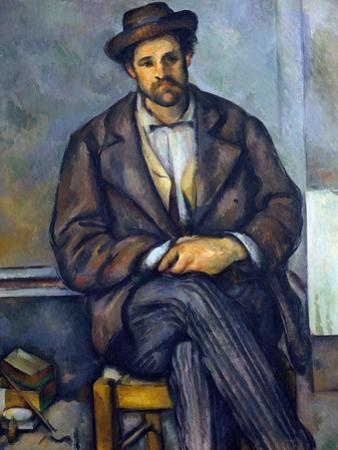 Seated Peasant by Paul Cézanne