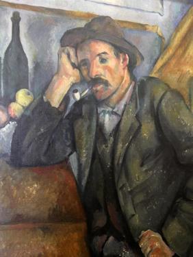 Smoker, C1890-C1892 by Paul Cézanne