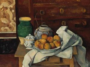 Still Life, about 1885 by Paul Cézanne
