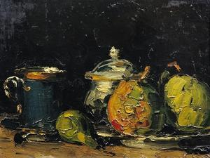 Still Life, circa 1865 by Paul Cézanne