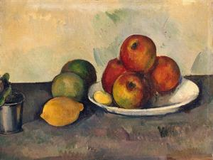 Still Life with Apples, C.1890 by Paul Cézanne