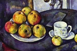 Still Life with Cup and Saucer by Paul Cézanne