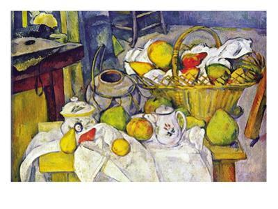 Still Life with Fruit Basket by Paul Cézanne