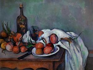 Still Life with Onions, 1895 by Paul Cézanne