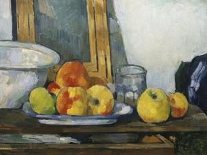 Still Life with Open Drawer, C.1879-1882 by Paul Cézanne