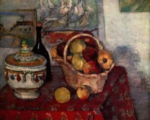 Paul Cezanne (Still Life with Soup Tureen) Art Poster Print
