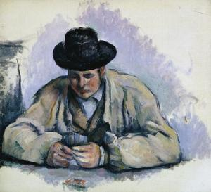 Study for The Cardplayers by Paul Cézanne