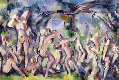 Study of Bathers, C.1900-06 by Paul Cézanne
