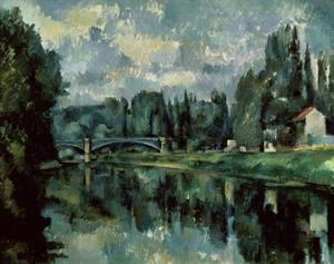 The Banks of Marne by Paul Cézanne