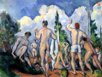 The Bathers, circa 1890-92 by Paul Cézanne