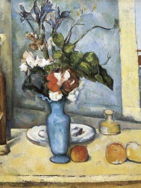 The Blue Vase by Paul Cézanne