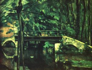 The Bridge at Maincy Near Melun by Paul Cézanne