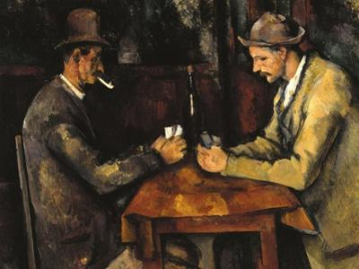 The Card Players, c.1890 by Paul Cézanne