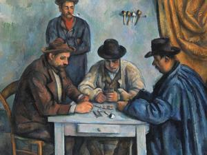 The Card Players by Paul Cézanne