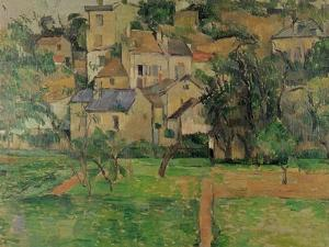The Hermitage at Pontoise, 1884 by Paul Cézanne