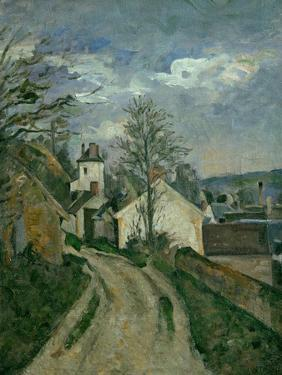 The House of Dr. Gachet at Auvers, circa 1873 by Paul Cézanne