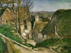 The House of the Hanged Man, 1873 by Paul Cézanne