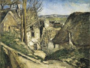 The House of the Hanged Man, Auvers-Sur-Oise by Paul Cézanne