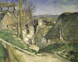 The House of the Hanged Man by Paul Cézanne