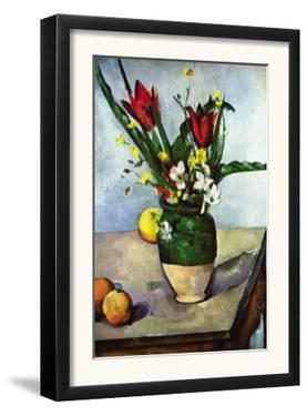 The Vase of Tulips, c. 1890 by Paul Cézanne