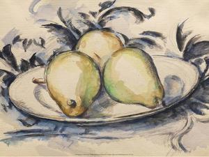 Three Pears, 1888-90 by Paul Cézanne