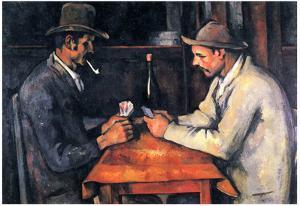Paul Cezanne (Two card) Art Poster Print