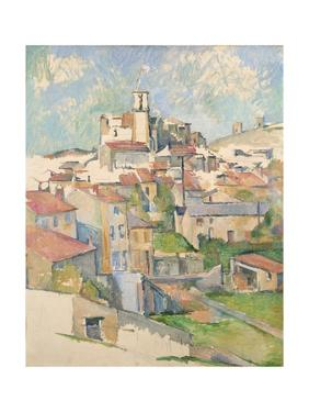 View of Gardanne by Paul Cézanne