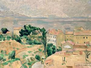 View of L'Estaque by Paul Cézanne