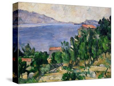 View of Mount Mareseilleveyre and the Isle of Maire, circa 1882-85 by Paul Cézanne
