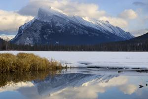Mount Rundle and Vermillion Lake in Banff National Park by Paul Colangelo