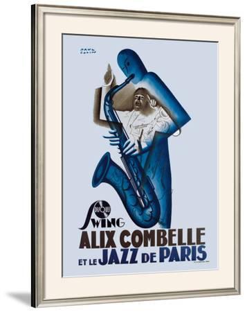 Alix Combelle, Jazz Paris by Paul Colin