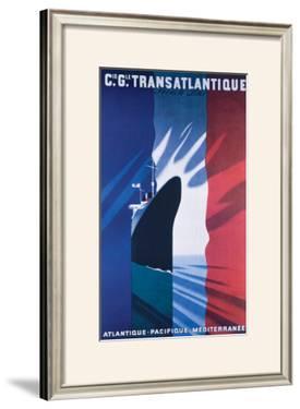 Cie Gle Transatlantique by Paul Colin