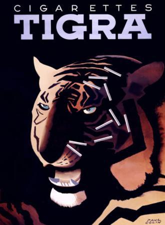 Cigarettes Tigra by Paul Colin