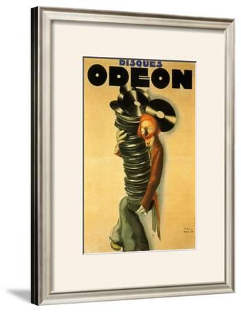 Disques Odeon, c.1932 by Paul Colin