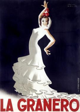 La Granero Flamenco Dance by Paul Colin