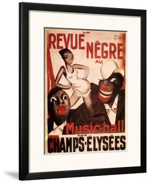 La Revue Negre, c.1925 by Paul Colin