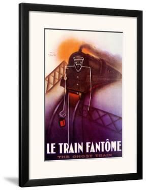 Le Train Fantome by Paul Colin