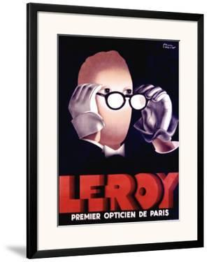 Leroy Opticien, c.1938 by Paul Colin